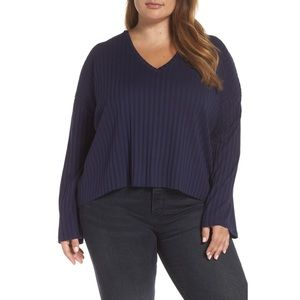NEW Bp. Wide Rib Crop Sweater 4X